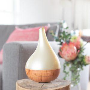 Aroma Bloom Wood Look Cream/Pearl