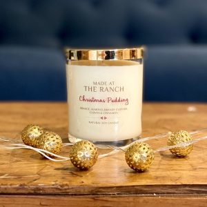 Christmas Pudding Large Candle